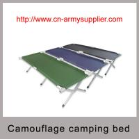 Aluminium frame military camping bed with polyester fabric Manufactures