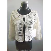 Buy cheap Women's fashion sweater hand crocheted from wholesalers