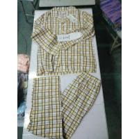 China indoor cotton leisure wear men women big size spring pajamas outfits sleeping sets Singapore stock-lot leads wholesale