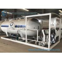 Buy cheap Mobile LPG Transport Tank Bower Skid Station For Refilling LPG To LPG Cylinder from wholesalers