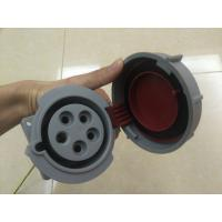Quality 240 3P+N+E 32A 380-415V IP67 Watertight Industrial Socket Outlets 3 Phase Industrial Socket for sale