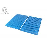 China Thin Type Small Size Connected HDPE Plastic Pallets Mat Boards For Warehouse Floor on sale