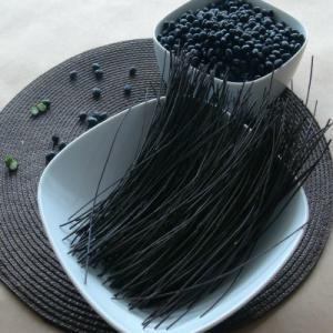 China Organic vegetarian and gluten free black bean spagehtti/linguine wholesale