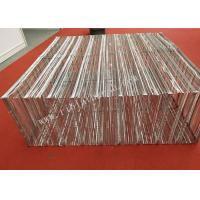 China Durable 500mm Width Galvanized Metal Lath Box 0.38MM Thickness 15MM Height wholesale