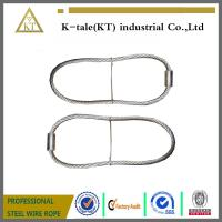 China cheap rigging wire rope sling assembled with wire rope thimble for buildings on sale
