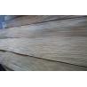 China Natural Zebrano Quarter Cut Plywood Veneer , 0.45mm Thickness wholesale