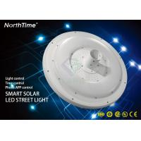 China IP65 15AH Integrated Round Garden Lights With Germany Solarworld Solar Panel For Pathway wholesale