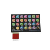 China Custom Metal Dome Membrane Switch With Silk Screen Printing / custom membrane switches wholesale