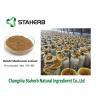 China Ganoderma Lucidum Reishi Mushroom Extract Brown Powder Triterpene 1%-20% wholesale