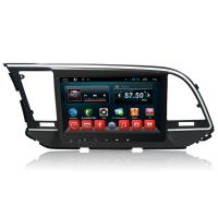 Quad Core Android HYUNDAI DVD Player , Car Multimeida Gps Navigation For Elantra 2016 2017 Manufactures