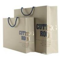 China Promotional Reusable Colorful Rope Handle Paper Carrier Bags With Logo Printed wholesale