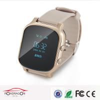 Two-way Communication SOS Alarm Wrist Watch GPS Tracker For Person Safety Manufactures