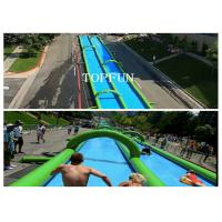 China 300M Huge Inflatable Water Slide on sale