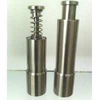 Mini Grinder Stainless Steel Pepper Mill With Glass Handle , Kitchen Tools