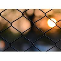 "China 9 Gauge X 2"" Chain Link Fence Fabric , Galvanized Chainlink Fencing Longlife wholesale"