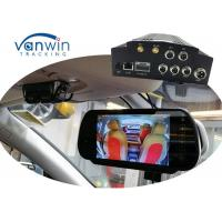 Mobile NVR with 4 channels 3G GPS WIFI MDVR HDD Storage, Vehicle Security cameras system Manufactures