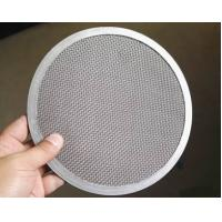 China Woven Wire Mesh Filter Disc SS Materials High Strain Ability Long Lifespan wholesale