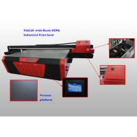 China Ricoh Gen5 Digital Wide Format Leather Printer For Leather Bags 2500mm x 1300mm wholesale