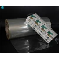 China 5% High Shrinkage PVC Packaging Film For Food Packaging And Naked Cigarette Box With ISO Certificate wholesale