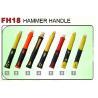 China F18 fiberglass hammer handles, striking tools fiberglass handle wholesale