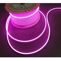 China High Quality Custom Sign 12V Waterproof micro size 5mm Led Neon Light Flex rope lights pink purple wholesale