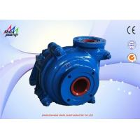 China 4/3 - AH Slurry Pump Small Scale Capacity Max 198m3 / Hr Head Max 52m wholesale