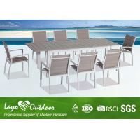 China Factory audit passed Casual Modern Style with high quality Outdoor Dinning Table set wholesale