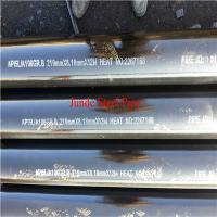 Buy cheap ASTM A106 seamless steel pipe for oil and gas pipeline with ISO CE API from wholesalers