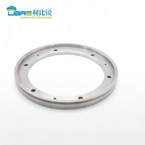 China ISO9001 Steel Inlayed Tungsten Carbide Circular Metal Slitting Knives With Holes wholesale