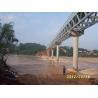 China GB Truss Steel Structure , Hot - Dip Galvanized Steel Frames Bridge wholesale