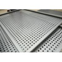 China 1.22x2.44m oval hole galvanized perforated metal sheet for Eastern Europe / hole hexagonal perforated sheet metal for ce on sale
