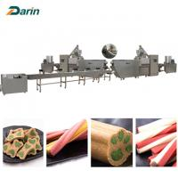 Buy cheap Single screw Dog Food Extruder dog pet chews  customizable Voltage from wholesalers