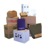 China Black Printed Cardboard Boxes , Recycled Gift Boxes Foil Stamping Finish wholesale