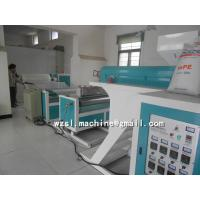 China 1000mm / 1200mm Single Layer PE Air Bubble Film Machine With Optional Bubble Roller on sale