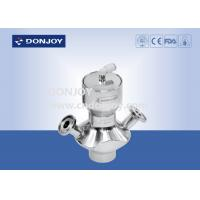 China Pneumtic Sanitary Aspetic Sampling Valve with Clamp Connection wholesale