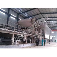 Quality Two Wire Fluting Paper Machine Grey With Cooking System And Size Press for sale