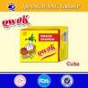 China Qwok 10g halal onion flavour seasoning cube bouillon cube wholesale