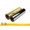 China Soft Touch Colorful Aluminum Laminated Film , Metallised Polyester Film wholesale