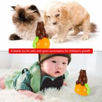 Christmas Gift Cute Pet Toys , ABS Material Tumbler Cat Toy Funny Sunds Light