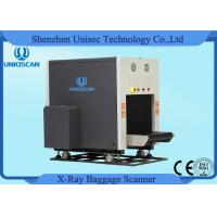 China Dual View X Ray Luggage Scanner , Two Generator X Ray Baggage Inspection System wholesale