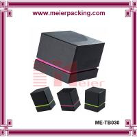 China Face cream packaging paper box, skin care sample packaging, black lipstick box  ME-TB030 on sale