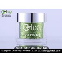 China No UV Light Professional Acrylic Powder , Glitter Dip Powder Long Lasting wholesale