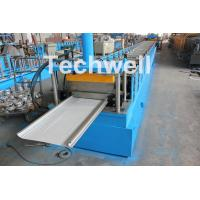 China PLC Control Cold Roll Forming Machine For Different Size Garage Door Panel wholesale