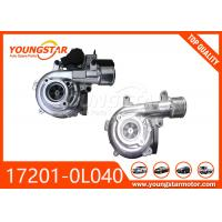 China TOYOTA 1KD Automotive Turbocharger , Car Turbo Charger CT16 17201-0L040 wholesale