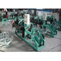China PVC Coated Wire Barbed Wire Fencing Machine , Fully Automatic Barbed Wire Machine wholesale