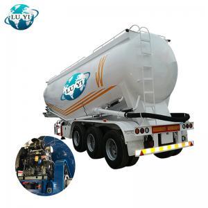 China Luyi 3 axles dry powder tanker semi trailer wholesale