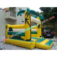 China Palm Tree Commercial Bouncy Castles Inflatable , Bouncer Jumper For Kids on sale