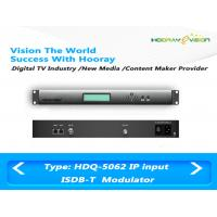 ISDB T Digital TV Modulator With Adaptive Linear / Nonlinear Digital Pre - Distortion Manufactures