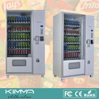 China Big Capacity Automatic Retailer Snack And Drink Vending Machine With Coin Changer wholesale