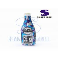 China Neckbands Custom Printed Labels for Bottles 6 Colors PVC Film wholesale